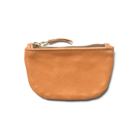 Maple Zip Pouch - Tan