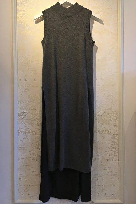 Joseph 'Joy' Cashmere/Wool Dress with Silk Slip