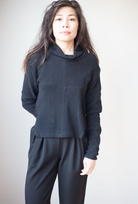 Eve Gravel Ono Sweater - Ebony