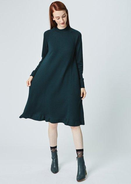 Odeeh Long Sleeve Wool Dress