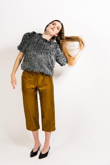 Beth Deck Pants - Gold Silk