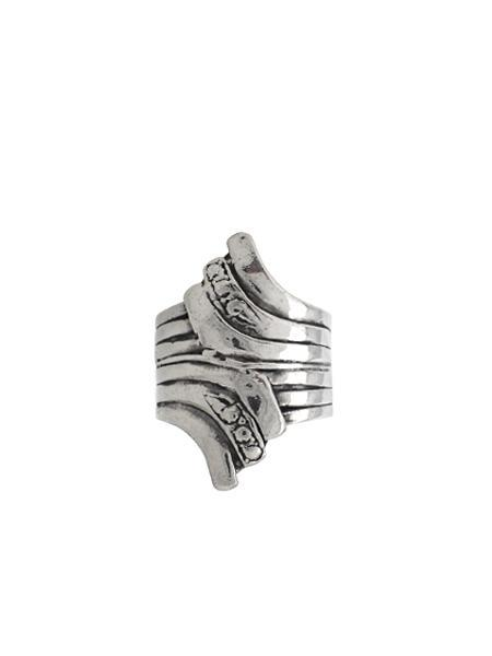 Beth Vintage Jewelry Wing Wrap Ring / Sterling Silver