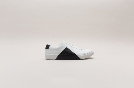 THEY New York Triangle Low in White/Black