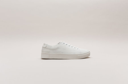 THEY New York Two Tone Low in Canvas White/Offwhite