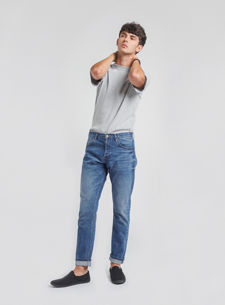 UNISEX I AND ME SELVEDGE SKINNY JEANS