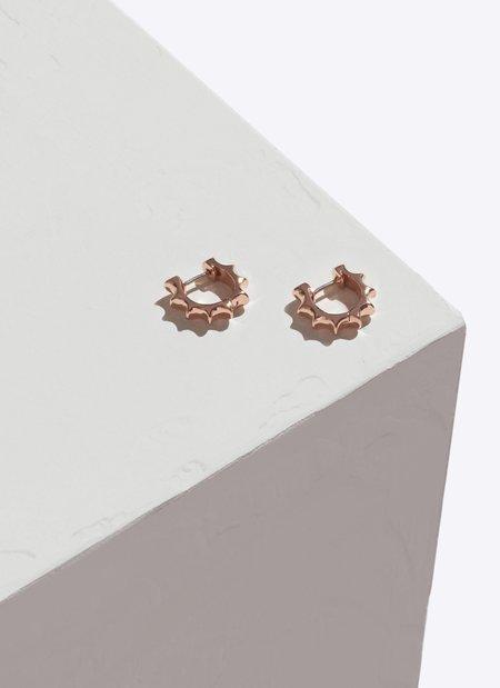 Pamela Love Sun Hoop Earrings