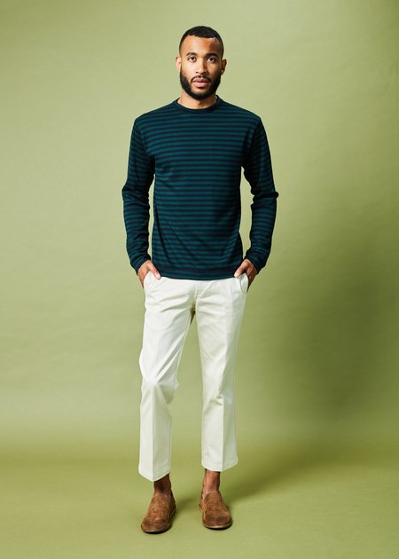 Labo.Art Paul Striped Woolen Sweater