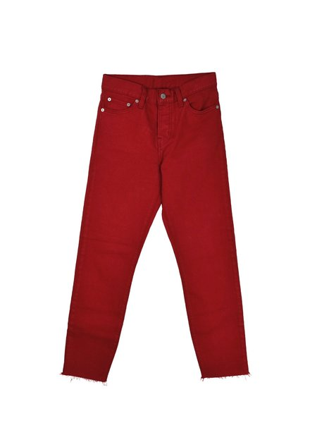 Levis Made & Crafted Levi's - Wedgie Jean / Red Dahlia Denim