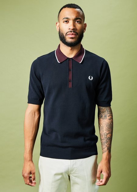 Fred Perry Reissue Pointelle Knit Polo