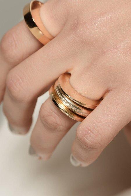 Gabriela Artigas Narrow Egg Ring - Gold