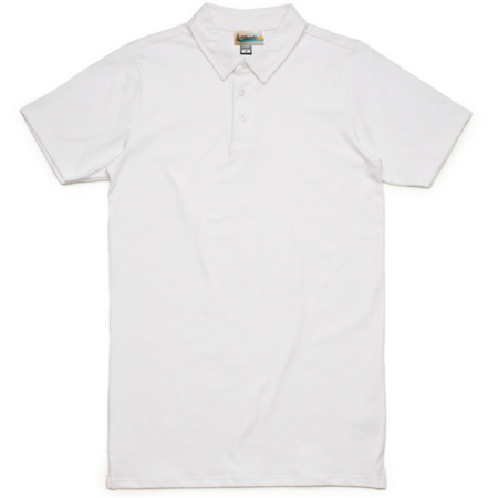 Men's Milworks Tim Polo White