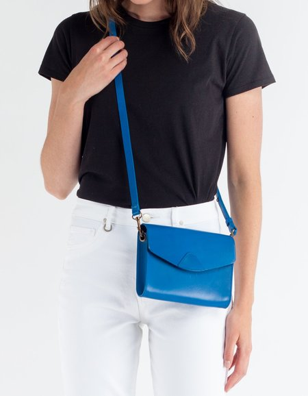 VereVerto Mini Mox Clutch, Crossbody & Hip Pack- Cobalt
