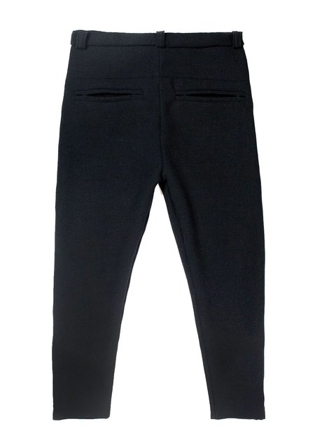 M Press Cropped Wool Trousers