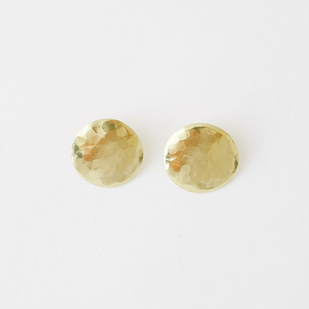 Crescioni terra earrings