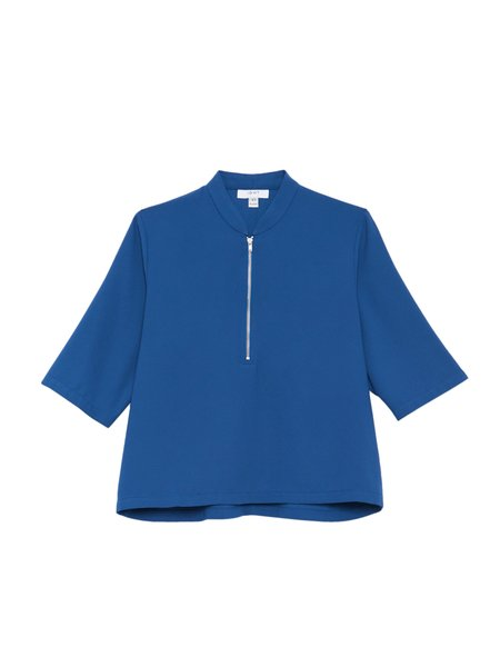 IGWT Percy Top - Blue Georgette