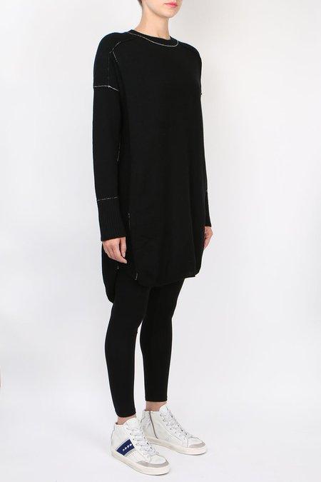 Paychi Guh Sweater Dress - black