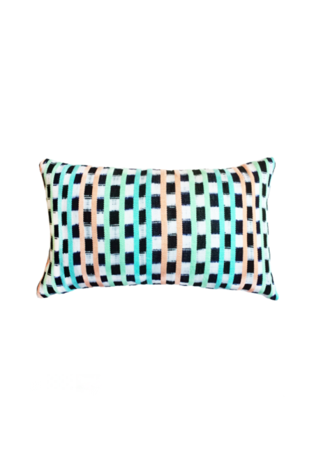 Archive New York San Juan La Laguna Jaspe Pillow - Pastel