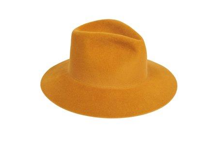 Clyde Pinch Hat in Kabocha Angora