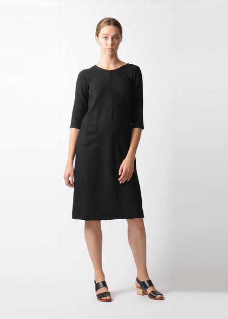 Modaspia Black Dress with Ties