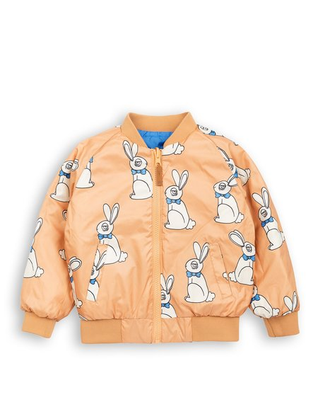 Kid's Mini Rodini Rabbit Reversible Jacket
