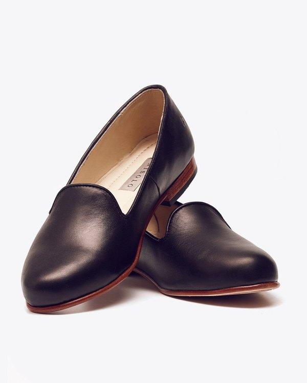 Nisolo Smoking Shoe Noir