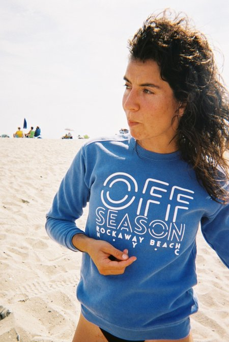 OffSeasonNYC Beach Crew Surf Blue