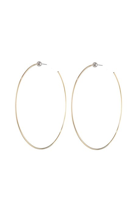 Jenny Bird Gold Icon Hoops