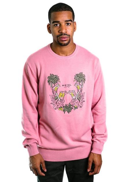 Barney Cools Motel Cools Knit Sweater - Pink