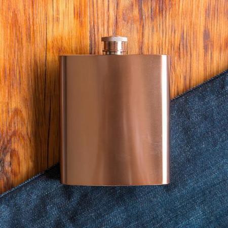 Mason Shaker Copper Flask