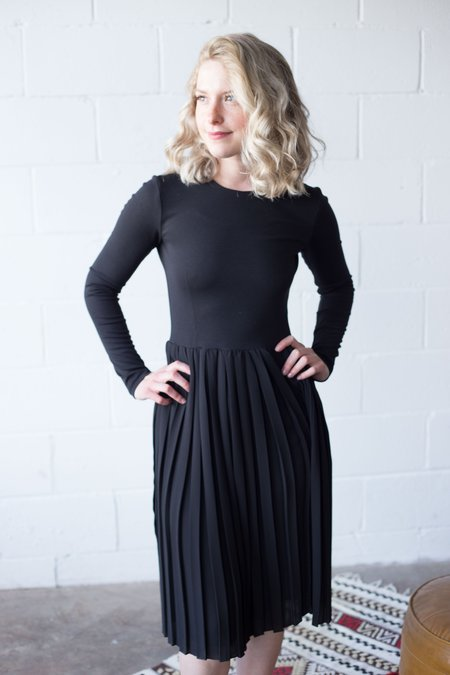 Valérie Dumaine Dress - Black