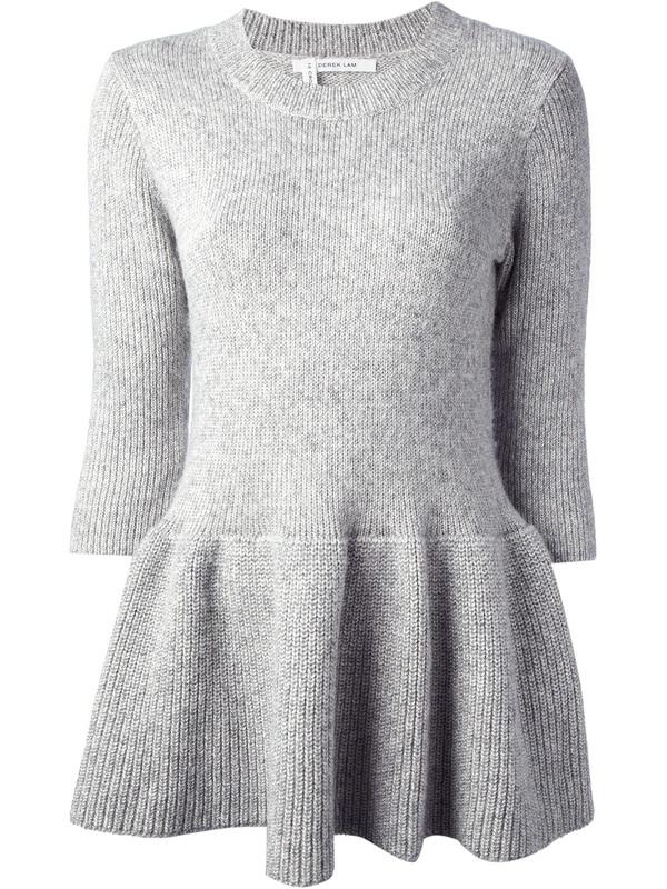 DemyLee 10 Crosby Peplum Sweater