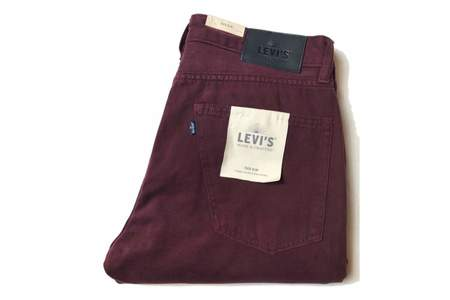 Levis Made and Crafted Tack Slim Wine Tasting