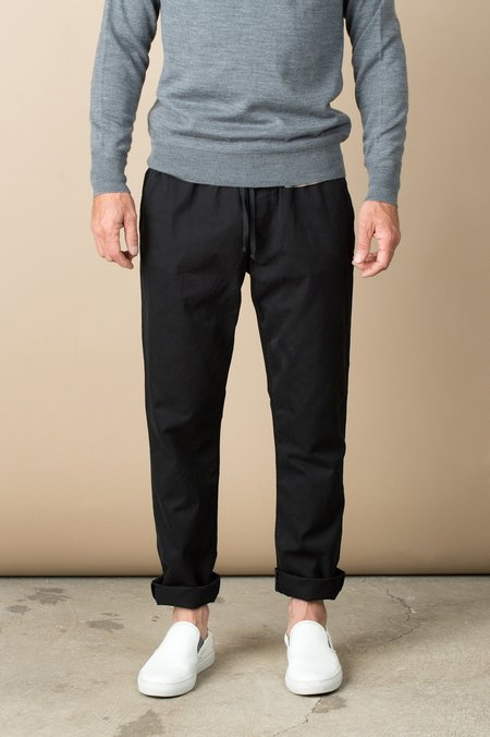 Save Khaki Twill Easy Chino In Black