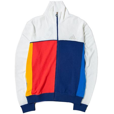 ADIDAS BY PHARRELL WILLIAMS TRACK TOP - CHALK WHITE