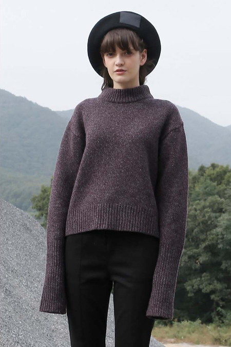 ROC. Ribbed Wool Knit