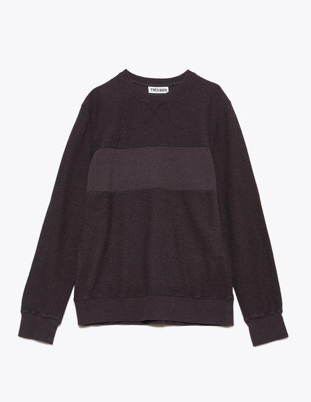 Tres Bien Panel Sweatshirt - Espresso