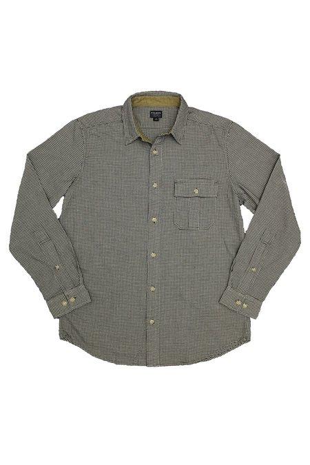 Filson Vintage Flannel Work Shirt - Black/Cream