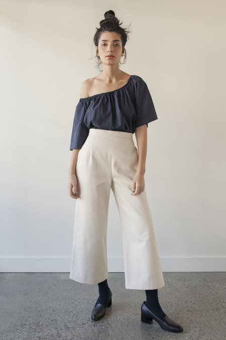 Sunja Link Cotton Canvas Pants