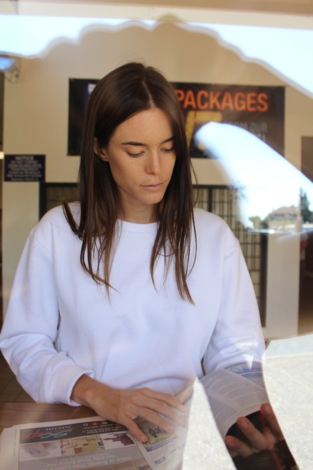 Beklina Live-in Sweatshirt White