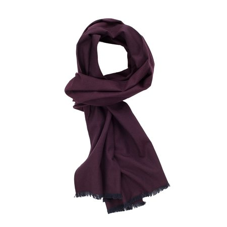 Corridor Brushed Plum Scarf