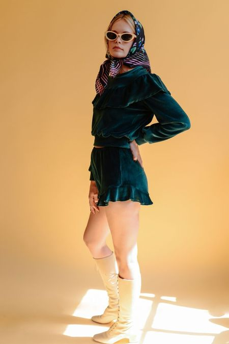 Lykke Wullf Jemima Ruffle Shorts