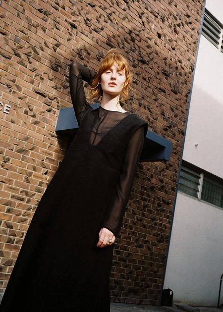 Penny Sage Lyrical Dress - Black