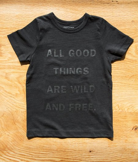 "6397 Mini Tiny Tee ""All Good"" - Black"