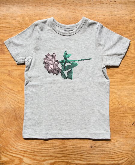 "Kids 6397 Mini Tiny Tee ""New Rose"" - Grey"