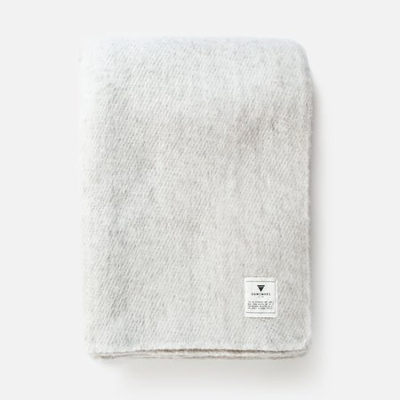 Someware Sabana Wool Throw - Grey