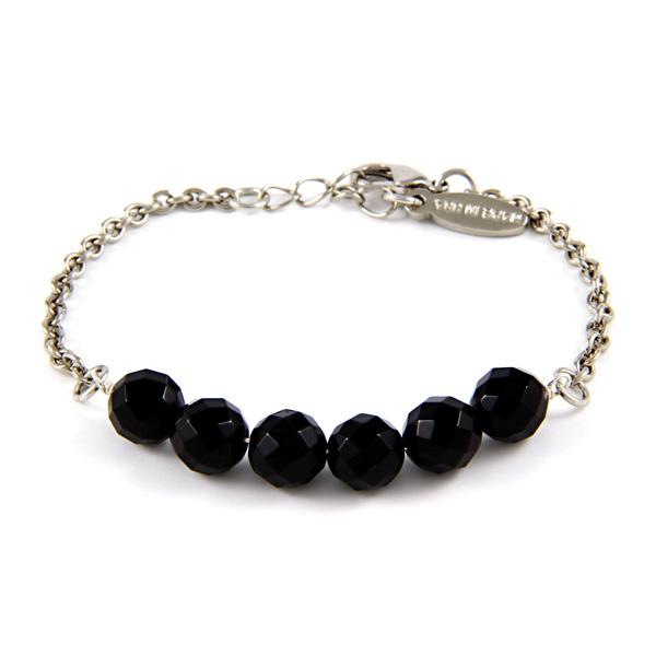 Ettika Onyx Bead Bracelet