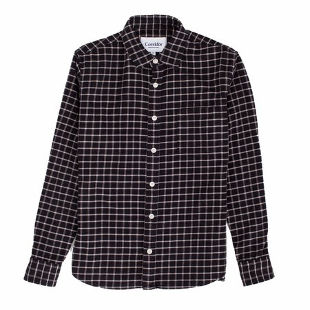 Corridor Black Check Wool Blend