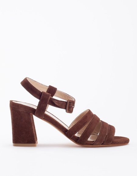 Maryam Nassir Zadeh Palma High in Chocolate Suede