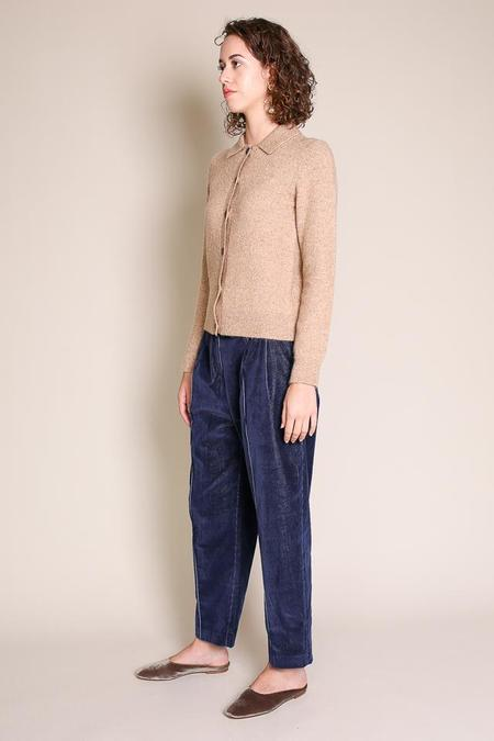 Sayaka Davis Tapered Pant in Navy