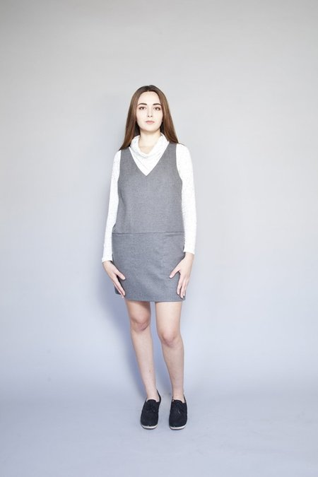 Eve Gravel Eames Dress - Smoke